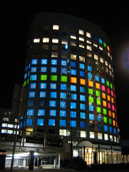 AkzoNobel headquarters in Amsterdam