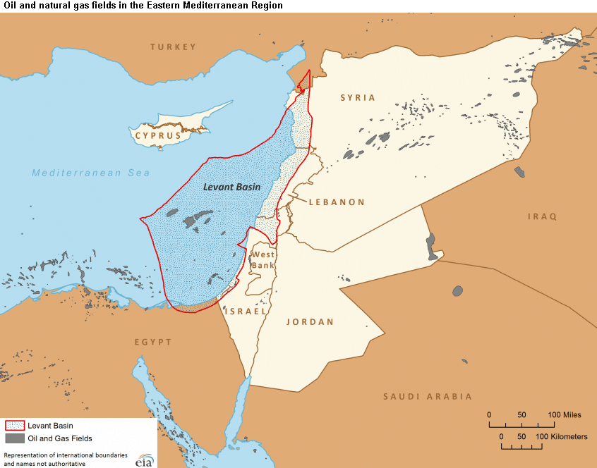 Levant Basin - Israel's Natural Gas