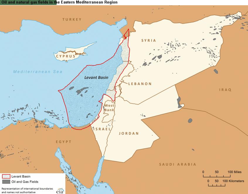 Levant Basin - Israel's Natural Gas