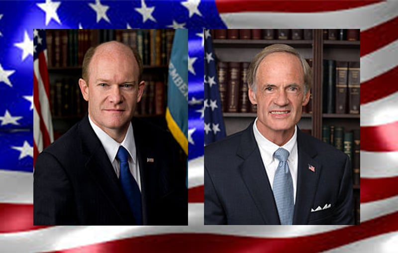 US Senators – Chris Coons and Tom Carper