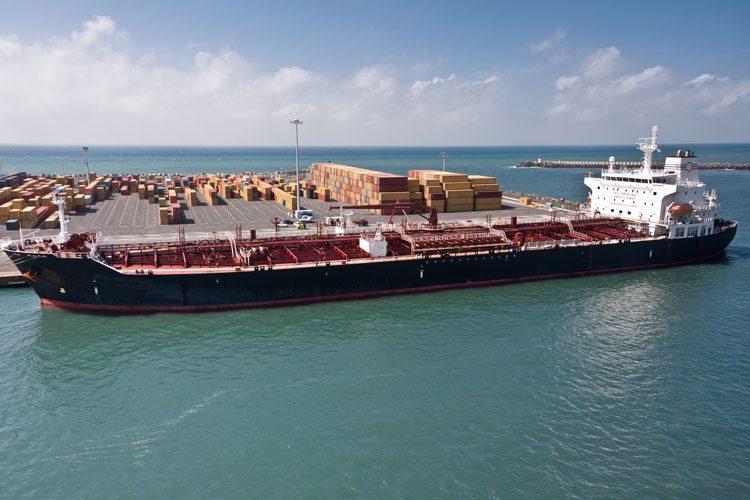 transshipment of ammonia